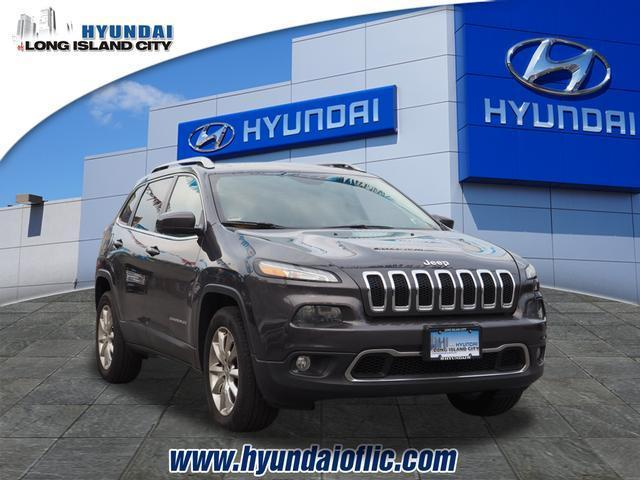 2016 Jeep Cherokee Limited 4x4 Limited 4dr SUV
