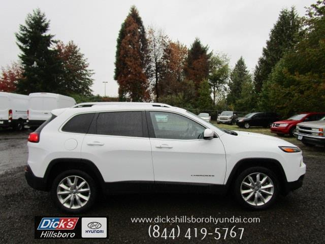 2016 Jeep Cherokee Limited Limited 4dr SUV