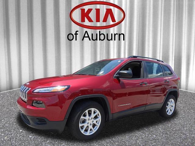 2016 jeep cherokee sport sport 4dr suv for sale in auburn alabama classified. Black Bedroom Furniture Sets. Home Design Ideas