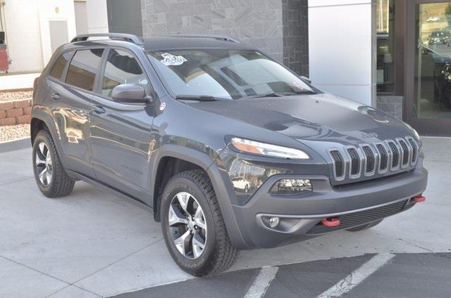 2016 jeep cherokee trailhawk 4x4 trailhawk 4dr suv for sale in saint george utah classified. Black Bedroom Furniture Sets. Home Design Ideas