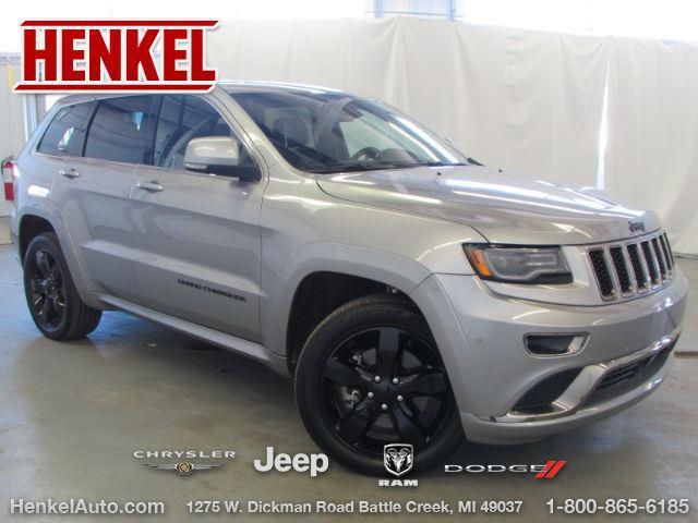 2016 jeep grand cherokee high altitude 4x4 high altitude 4dr suv for sale in battle creek. Black Bedroom Furniture Sets. Home Design Ideas