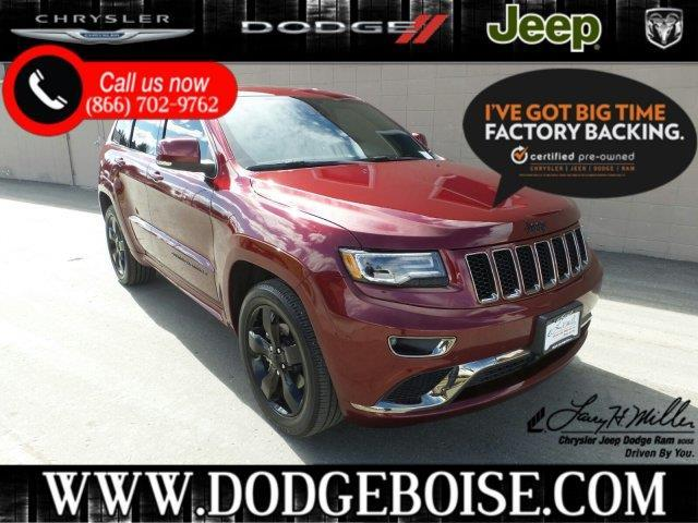 Larry Miller Dodge Boise >> 2016 Jeep Grand Cherokee High Altitude 4x4 High Altitude ...