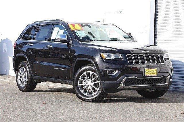 2016 Jeep Grand Cherokee Limited 4x4 Limited 4dr SUV
