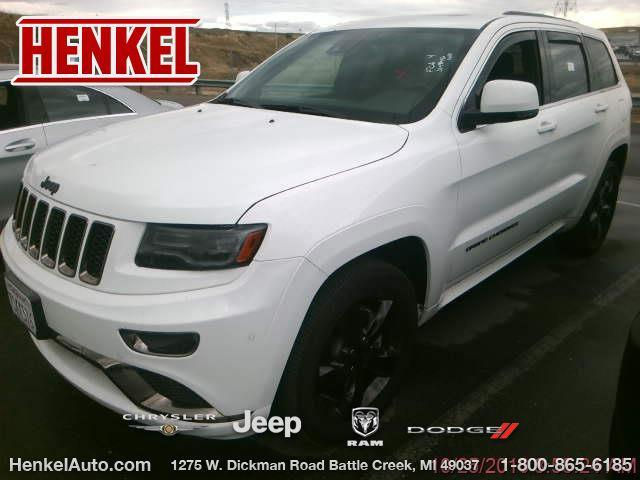 2016 jeep grand cherokee overland 4x4 overland 4dr suv for sale in battle creek michigan. Black Bedroom Furniture Sets. Home Design Ideas