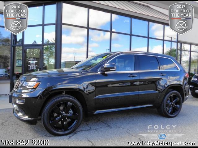 2016 jeep grand cherokee overland 4x4 overland 4dr suv for sale in edgemere massachusetts. Black Bedroom Furniture Sets. Home Design Ideas