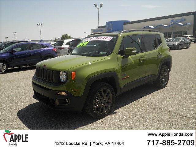 2016 jeep renegade latitude 4x4 latitude 4dr suv for sale in york pennsylvania classified. Black Bedroom Furniture Sets. Home Design Ideas