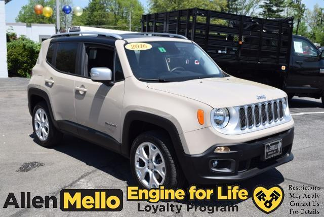 2016 jeep renegade limited 4x4 limited 4dr suv for sale in nashua new hampshire classified. Black Bedroom Furniture Sets. Home Design Ideas