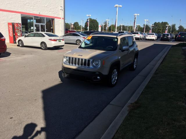 2016 Jeep Renegade Limited Limited 4dr SUV