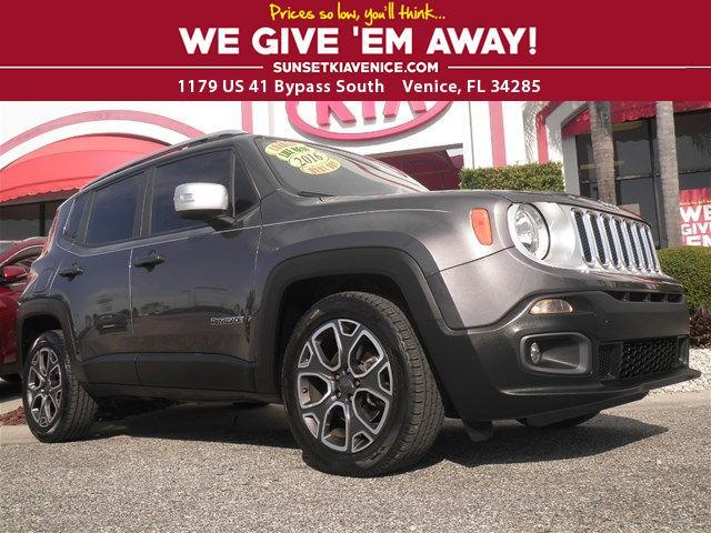 2016 jeep renegade limited limited 4dr suv for sale in venice florida classified. Black Bedroom Furniture Sets. Home Design Ideas