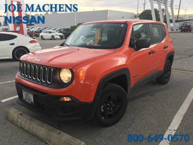 2016 Jeep Renegade Sport 4x4 Sport 4dr Suv For Sale In