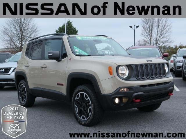 2016 jeep renegade trailhawk 4x4 trailhawk 4dr suv for sale in newnan georgia classified. Black Bedroom Furniture Sets. Home Design Ideas