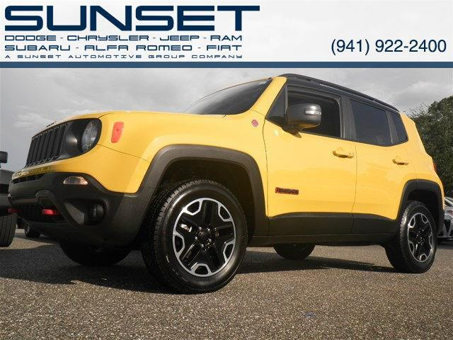 2016 jeep renegade trailhawk 4x4 trailhawk 4dr suv for sale in sarasota florida classified. Black Bedroom Furniture Sets. Home Design Ideas