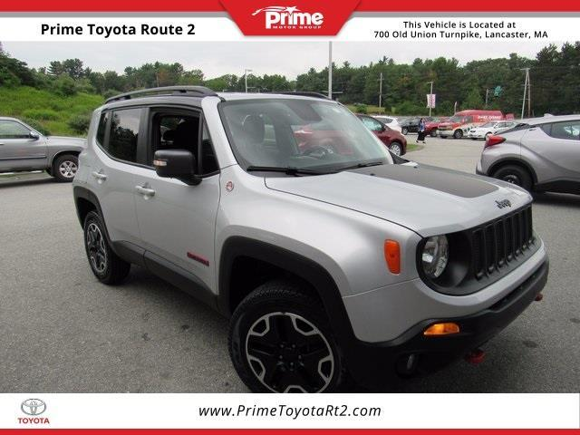 2016 jeep renegade trailhawk 4x4 trailhawk 4dr suv for sale in lancaster massachusetts. Black Bedroom Furniture Sets. Home Design Ideas