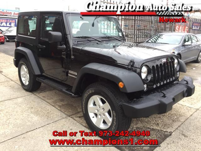 2016 jeep wrangler sport 4x4 sport 2dr suv for sale in newark new jersey classified. Black Bedroom Furniture Sets. Home Design Ideas