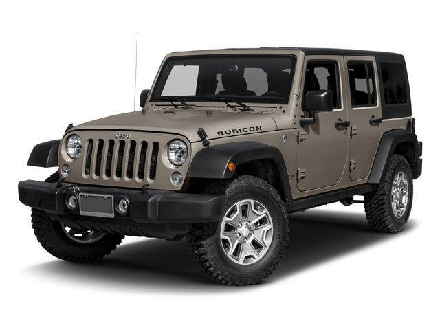 2016 Jeep Wrangler Unlimited Rubicon 4x4 Rubicon 4dr