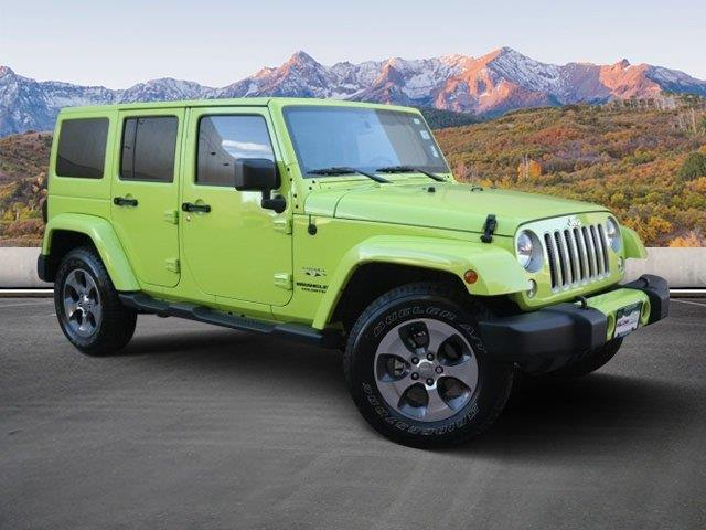 2016 jeep wrangler unlimited sahara 4x4 sahara 4dr suv for. Black Bedroom Furniture Sets. Home Design Ideas