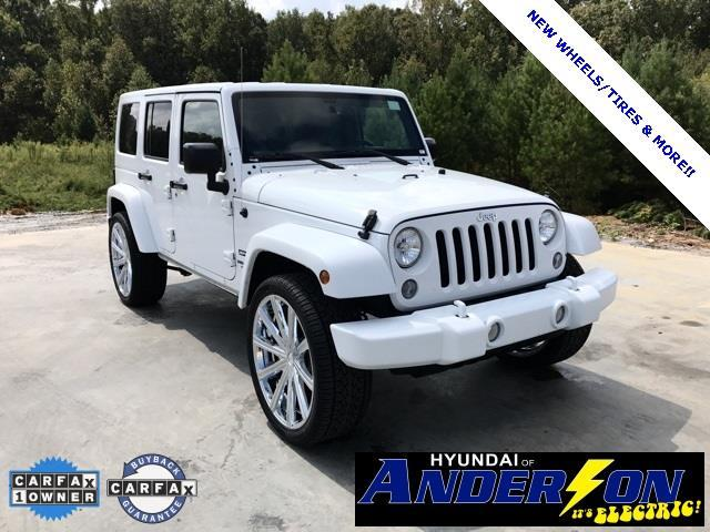 2016 jeep wrangler unlimited sport 4x4 sport 4dr suv for sale in anderson south carolina. Black Bedroom Furniture Sets. Home Design Ideas