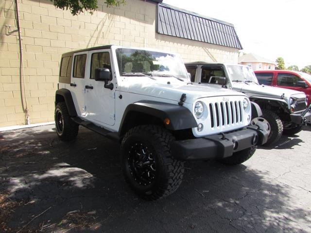 2016 Jeep Wrangler Unlimited Sport 4x4 Sport 4dr SUV