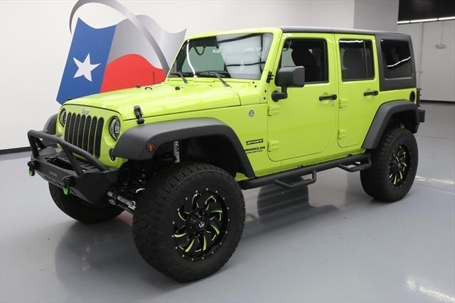 2016 jeep wrangler unlimited sport 4x4 sport 4dr suv for sale in houston texas classified. Black Bedroom Furniture Sets. Home Design Ideas