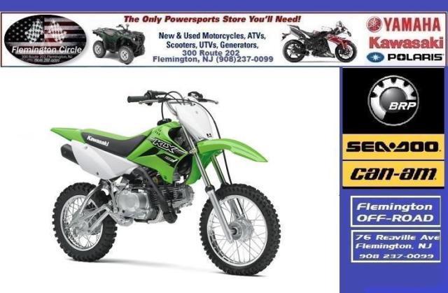 2016 Kawasaki Klx110l For Sale In Flemington New Jersey