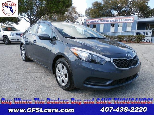 2016 kia forte lx lx 4dr sedan 6m for sale in orlando. Black Bedroom Furniture Sets. Home Design Ideas