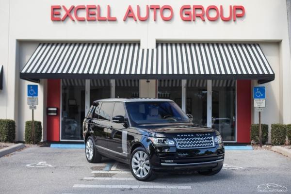 2016 Land Rover Range Rover Supercharged LWB AWD
