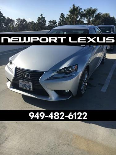 2016 Lexus IS 200t Base 4dr Sedan