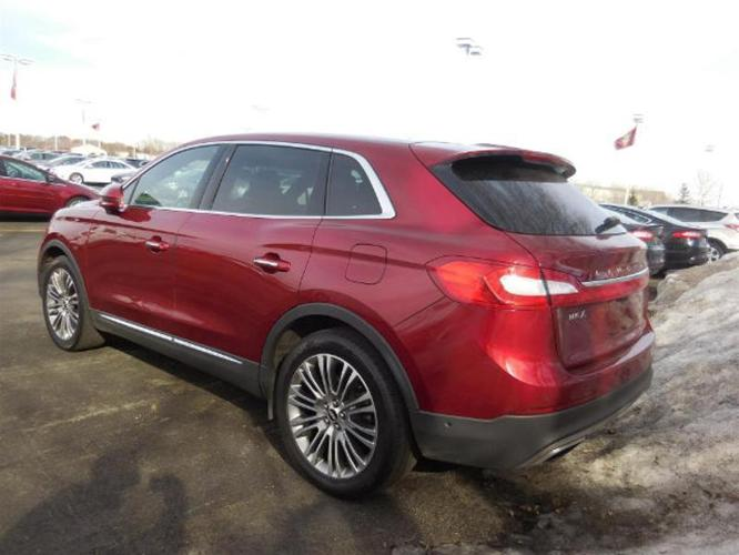 2016 lincoln mkx reserve awd reserve 4dr suv for sale in otsego minnesota classified. Black Bedroom Furniture Sets. Home Design Ideas
