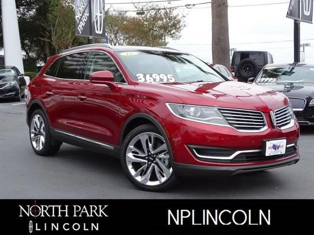 2016 Lincoln MKX Reserve Reserve 4dr SUV