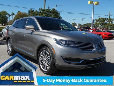 2016 lincoln mkx reserve reserve 4dr suv for sale in fort myers florida classified. Black Bedroom Furniture Sets. Home Design Ideas