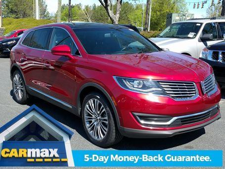 2016 lincoln mkx reserve reserve 4dr suv for sale in greenville south carolina classified. Black Bedroom Furniture Sets. Home Design Ideas