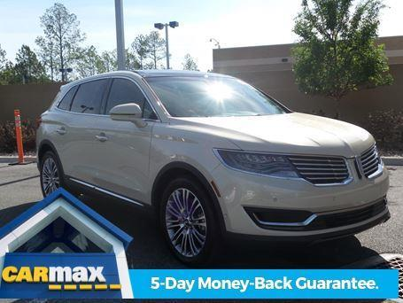 2016 lincoln mkx reserve reserve 4dr suv for sale in gainesville florida classified. Black Bedroom Furniture Sets. Home Design Ideas