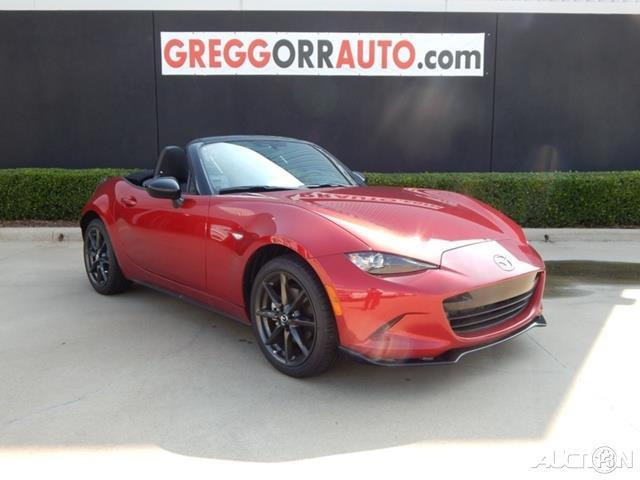 2016 mazda mx 5 miata club club 2dr convertible 6m for sale in red river army depot texas. Black Bedroom Furniture Sets. Home Design Ideas