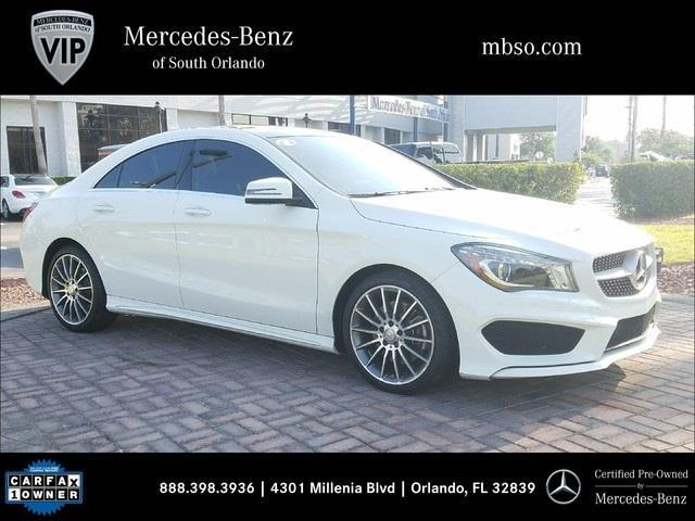 2016 mercedes benz cla cla 250 4matic awd cla 250 4matic 4dr sedan for sale in orlando florida. Black Bedroom Furniture Sets. Home Design Ideas