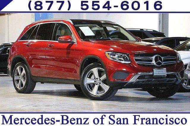 2016 mercedes benz glc glc 300 4matic awd glc 300 4matic 4dr suv for sale in san francisco. Black Bedroom Furniture Sets. Home Design Ideas