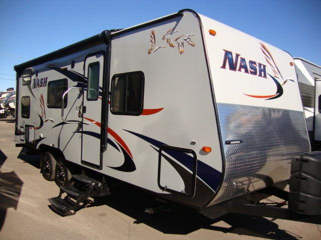Nash Travel Trailers >> 2016 Nash 23B 1/2 ton towable Bunk House travel trailer - Sale Priced for Sale in Mesa, Arizona ...