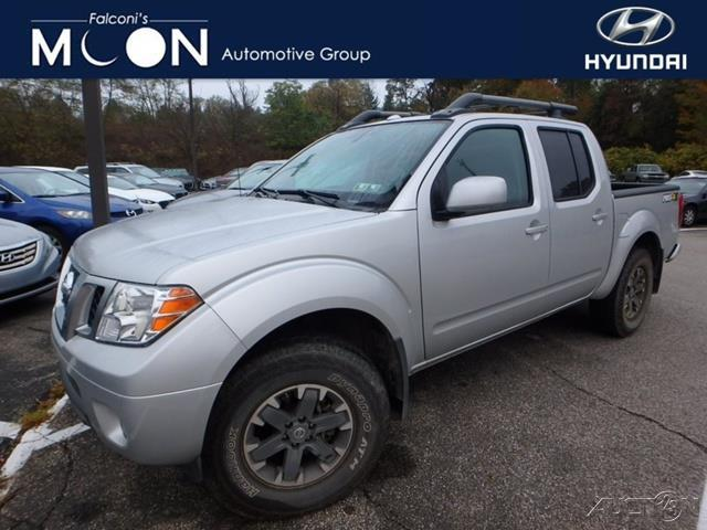 2016 nissan frontier pro 4x 4x4 pro 4x 4dr crew cab 5 ft sb pickup 6m for sale in coraopolis. Black Bedroom Furniture Sets. Home Design Ideas