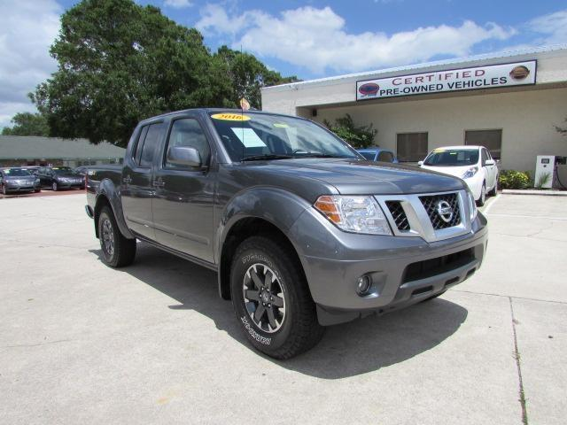 2016 nissan frontier pro 4x 4x4 pro 4x 4dr crew cab 5 ft sb pickup 6m for sale in titusville. Black Bedroom Furniture Sets. Home Design Ideas