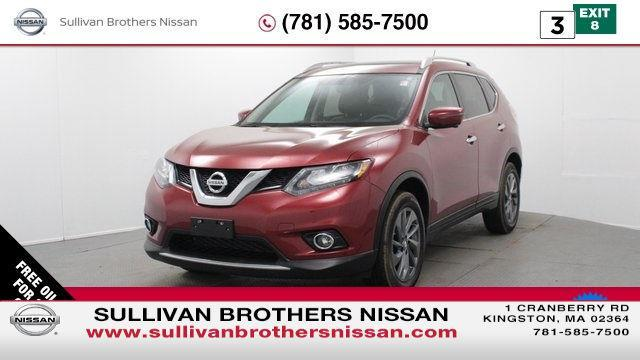 2016 Nissan Rogue SL AWD SL 4dr Crossover