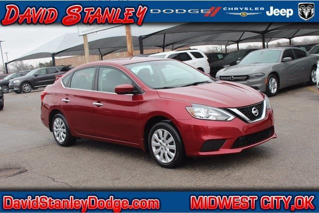 2016 nissan sentra s s 4dr sedan cvt for sale in oklahoma city oklahoma classified. Black Bedroom Furniture Sets. Home Design Ideas