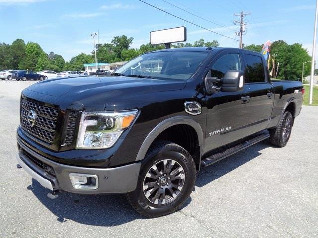 2016 nissan titan xd pro 4x 4x4 pro 4x 4dr crew cab pickup diesel for sale in greensboro. Black Bedroom Furniture Sets. Home Design Ideas