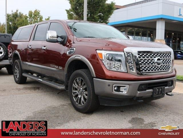 2016 nissan titan xd s 4x2 s 4dr crew cab pickup diesel for sale in norman oklahoma. Black Bedroom Furniture Sets. Home Design Ideas