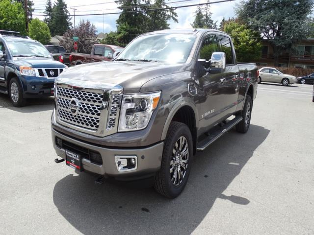 2016 nissan titan xd s 4x4 s 4dr crew cab pickup diesel for sale in portland oregon. Black Bedroom Furniture Sets. Home Design Ideas