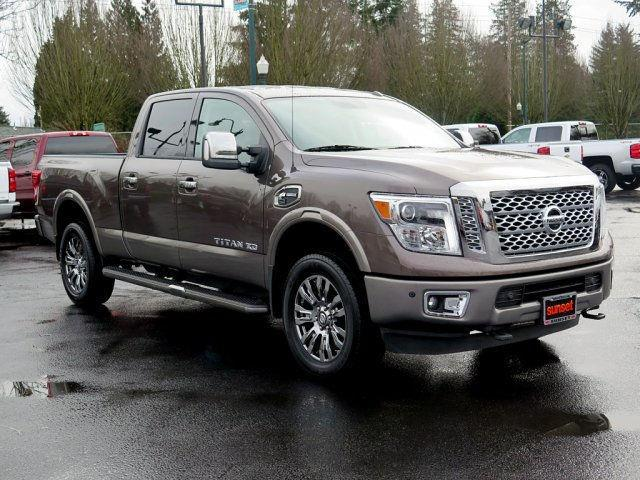 2016 nissan titan xd s 4x4 s 4dr crew cab pickup diesel for sale in alderton washington. Black Bedroom Furniture Sets. Home Design Ideas