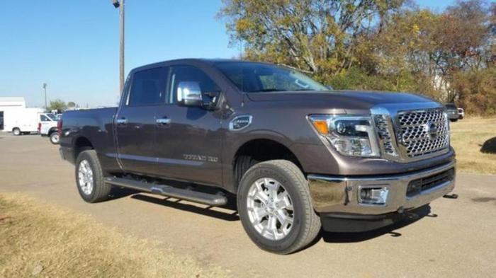 2016 nissan titan xd sl 4x4 sl 4dr crew cab pickup diesel for sale in murfreesboro tennessee. Black Bedroom Furniture Sets. Home Design Ideas