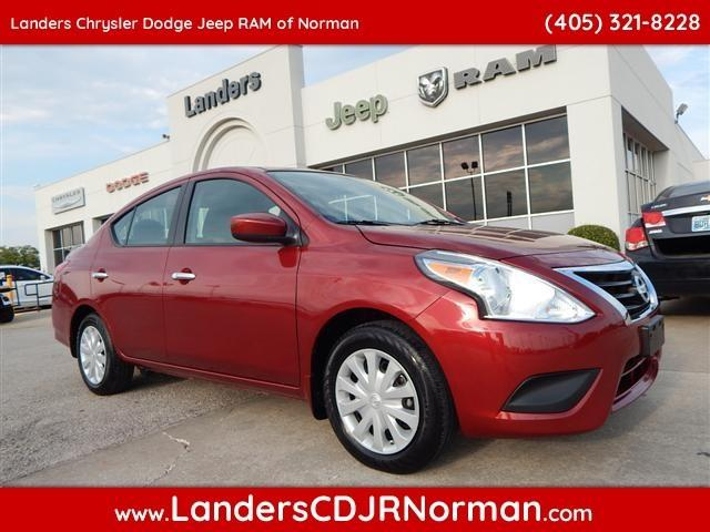 2016 nissan versa 1 6 s 1 6 s 4dr sedan 5m for sale in norman oklahoma classified. Black Bedroom Furniture Sets. Home Design Ideas