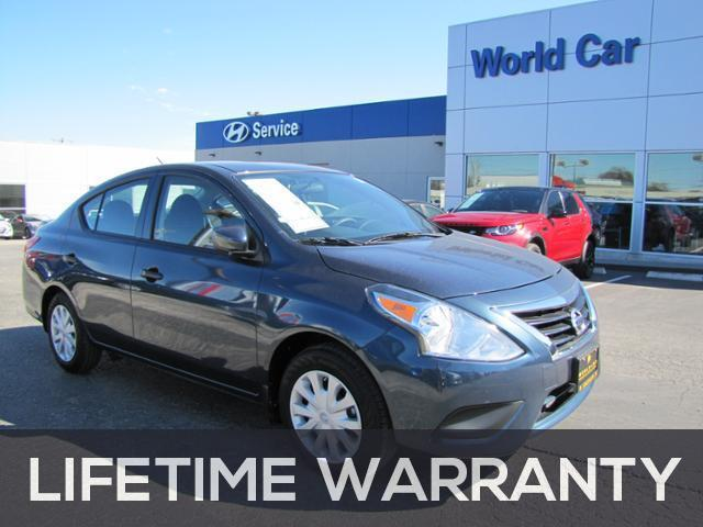 2016 Nissan Versa 1.6 S Plus 1.6 S Plus 4dr Sedan