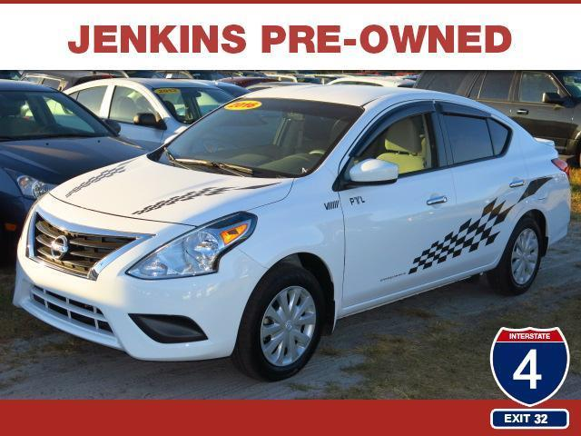 2016 nissan versa 1 6 sv 1 6 sv 4dr sedan for sale in lakeland florida classified. Black Bedroom Furniture Sets. Home Design Ideas