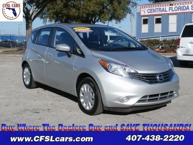 2016 nissan versa note sv sv 4dr hatchback for sale in orlando florida classified. Black Bedroom Furniture Sets. Home Design Ideas