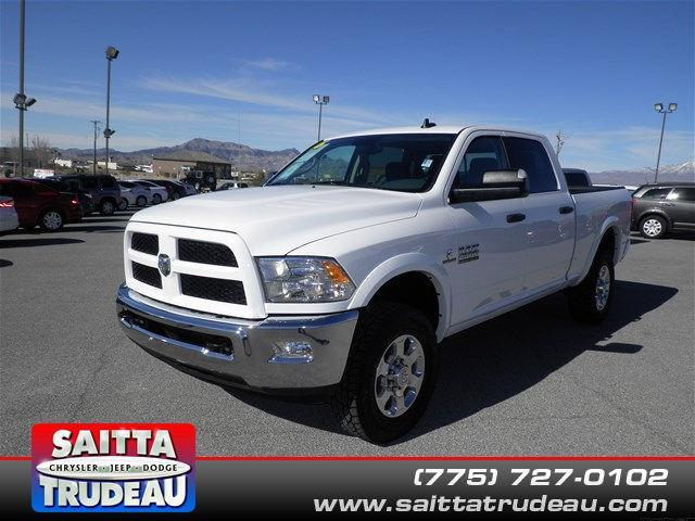 2016 ram ram pickup 2500 slt 4x4 slt 4dr crew cab 6 3 ft sb pickup for sale in crystal nevada. Black Bedroom Furniture Sets. Home Design Ideas
